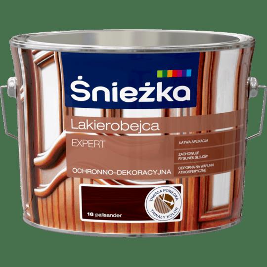 ŚNIEŻKA Lakierobejca Expert Ochronno-Dekoracyjna palisander 2,5 L