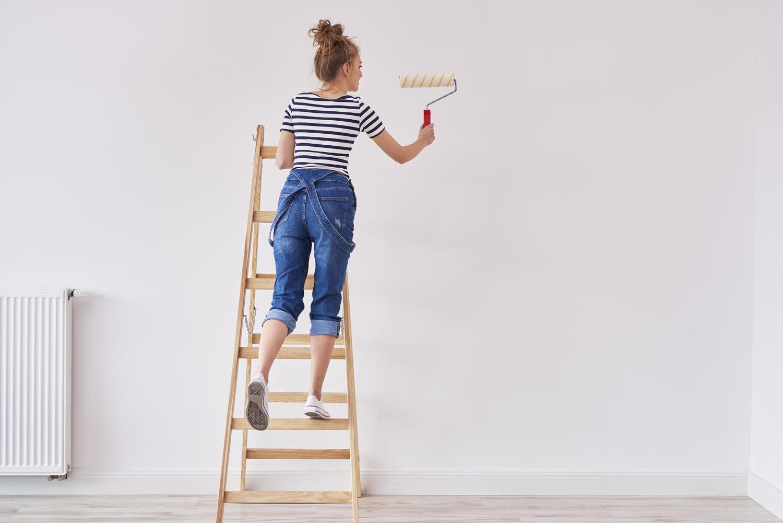 Malowanie ścian z płyt gipsowo-kartonowych