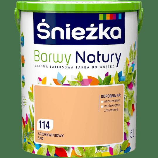ŚNIEŻKA Barwy Natury brzoskwiniowy sad 5 L