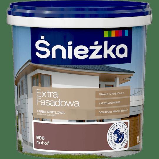 ŚNIEŻKA Extra Fasadowa mahoń 1 L