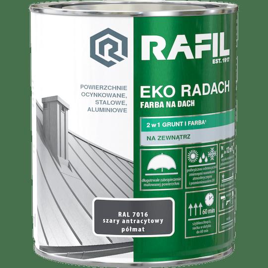 RAFIL Eko-Radach Farba Na Dach RAL7016