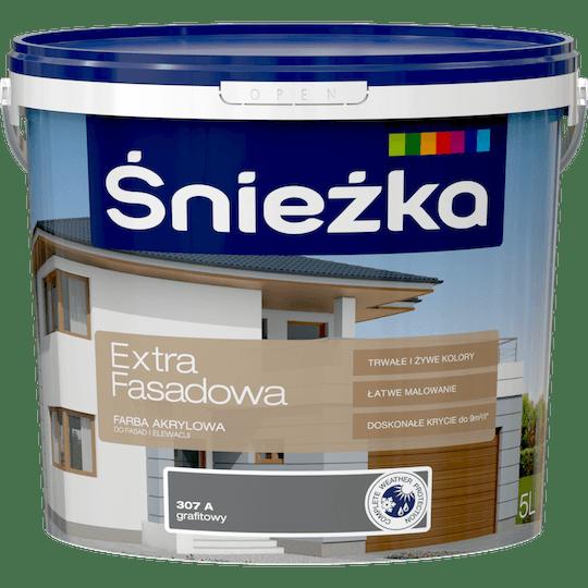 ŚNIEŻKA Extra Fasadowa grafitowy A 5 L