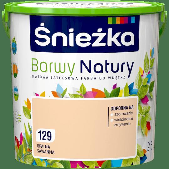 ŚNIEŻKA Barwy Natury upalna sawanna 2,5 L