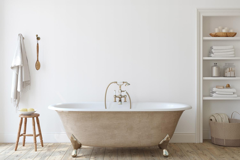 Tani remont łazienki – jaką farbę do ścian wybrać