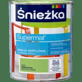 ŚNIEŻKA Supermal® Emalia Akrylowa Satynowy Połysk