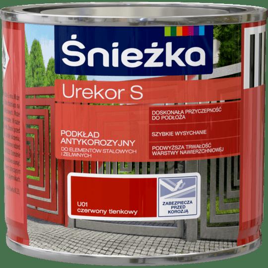 ŚNIEŻKA Urekor S Podkład Antykorozyjny czerwony 0,2 L