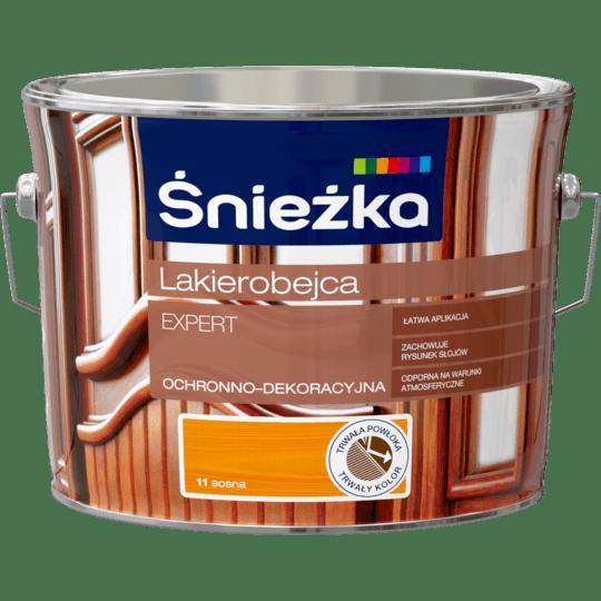 ŚNIEŻKA Lakierobejca Expert Ochronno-Dekoracyjna sosna 2,5 L