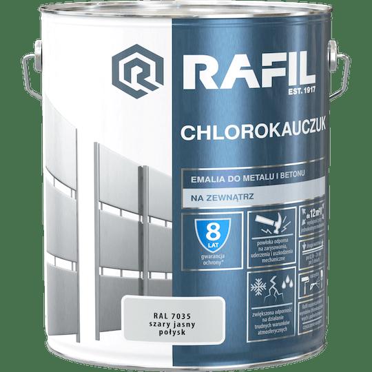 Rafil  Эмаль Хлоркаучуковая RAL7035