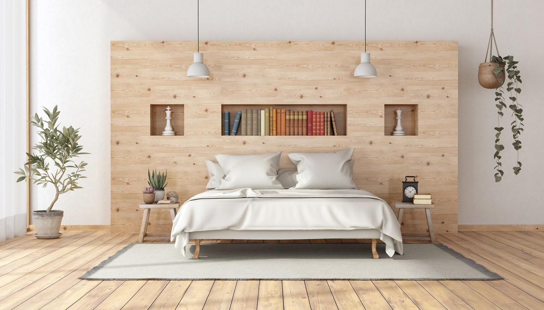 Kolor ścian do jasnych drewnianych mebli