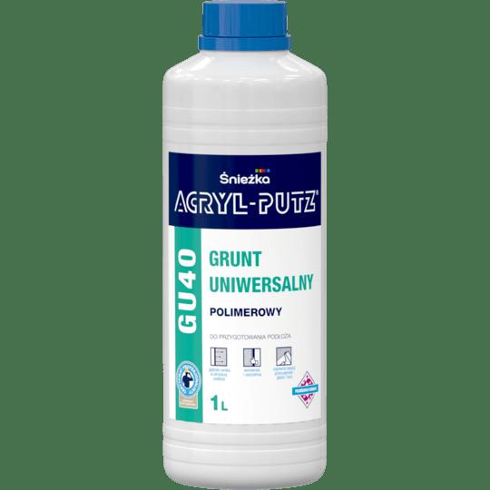 ŚNIEŻKA Acryl-Putz® GU40 Grunt Polimerowy Uniwersalny Transparentny 1 L
