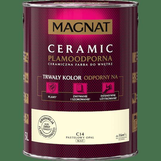 MAGNAT Ceramic pastelowy opal 5 L