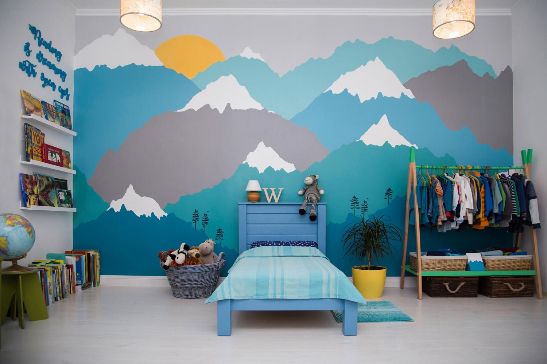 Jak namalować góry na ścianie?