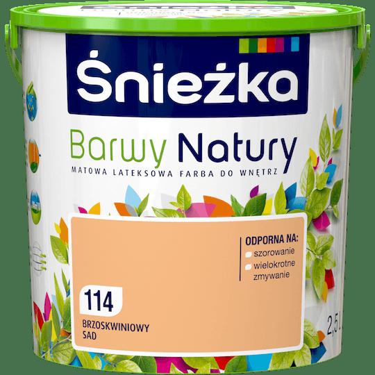 ŚNIEŻKA Barwy Natury brzoskwiniowy sad 2,5 L