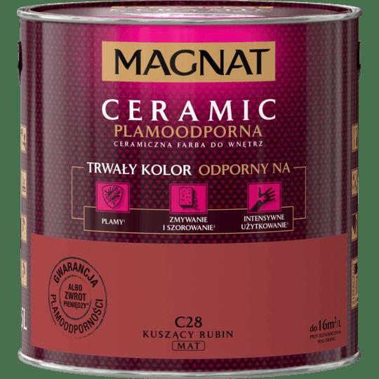 MAGNAT Ceramic kuszący rubin C28 2,5L