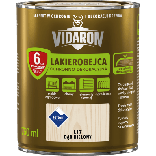 Vidaron Stain & Varnish bleached oak 0,75 L
