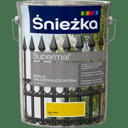 ŚNIEŻKA Supermal® Emalia Chlorokauczukowa RAL1003 5 L