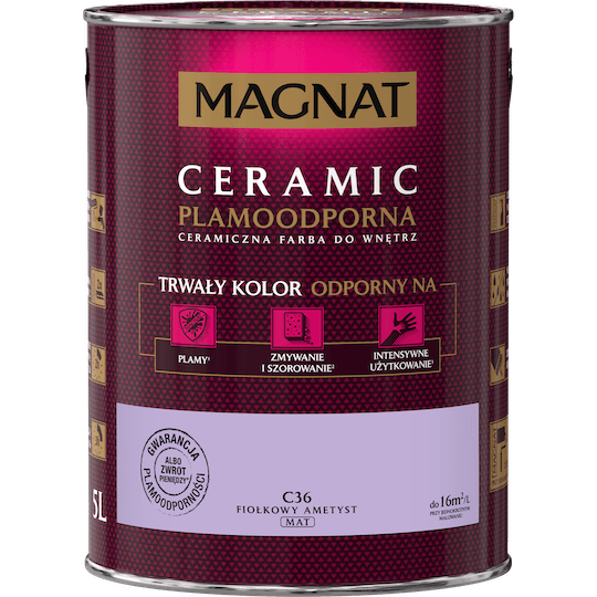 MAGNAT Ceramic fiołkowy ametyst 5 L