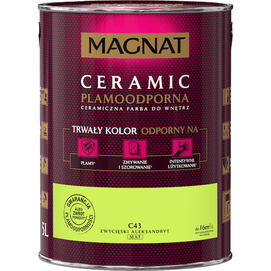 MAGNAT Ceramic zwycięski aleksandryt 5 L