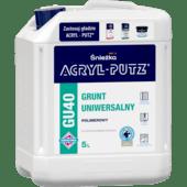 Acryl-Putz grunt uniwersalny GU40 5L
