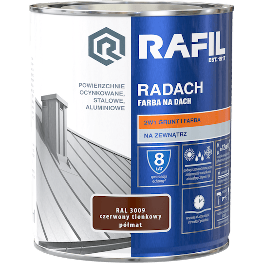 RAFIL Radach Farba Na Dach RAL3009