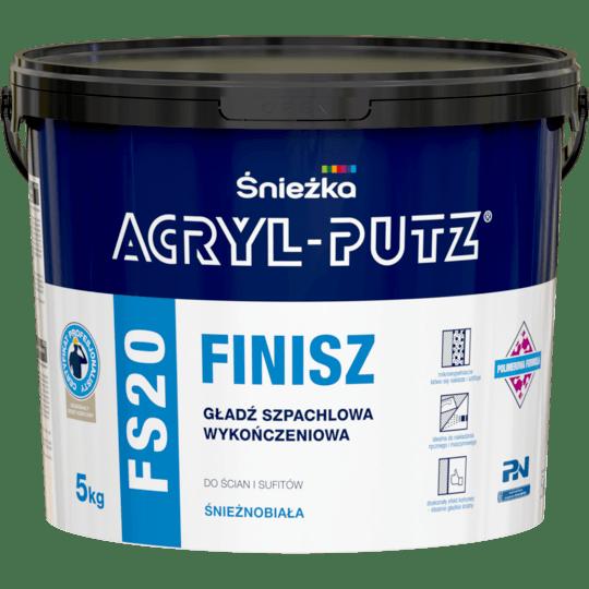 Acryl Putz FS20 Finish white 5 kg