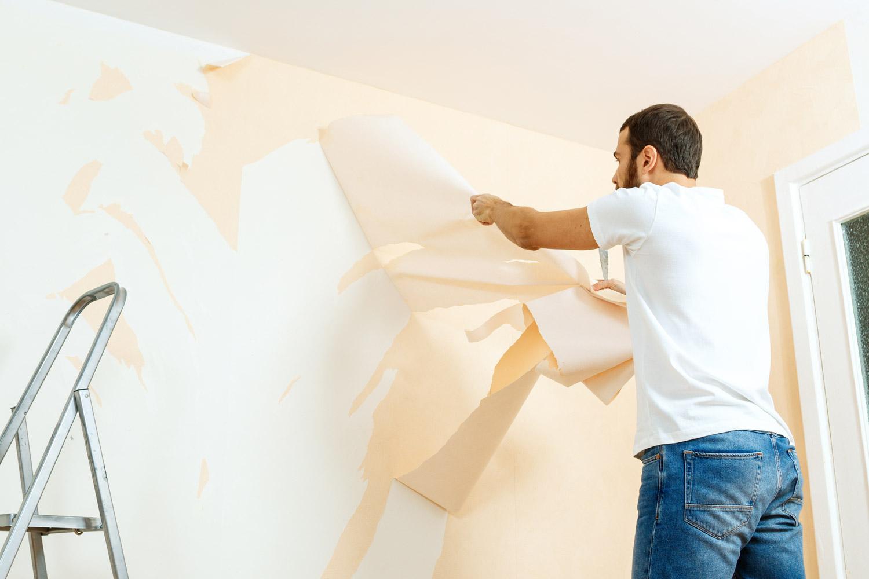 Malowanie ścian po usunięciu tapety