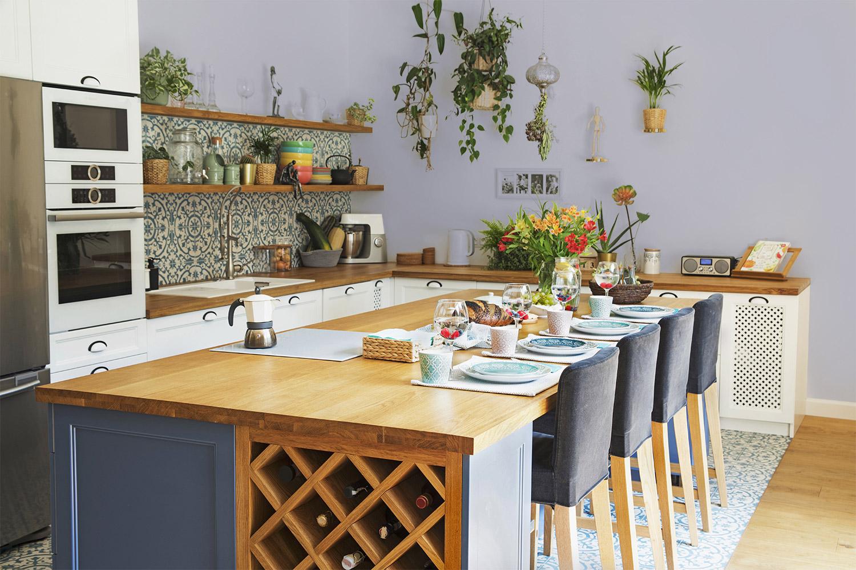 Dodatki do kuchni w stylu prowansalskim – MAGNAT Ceramic Kitchen&Bathroom B7 mokry marmur