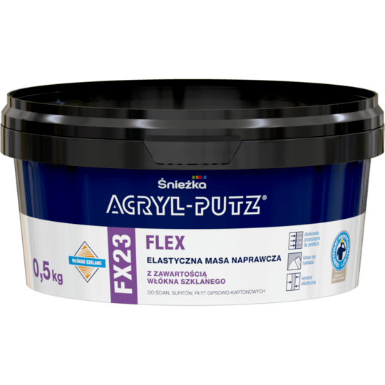 Acryl Putz FX23 Flex white 0,5 kg