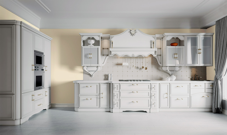 Kuchnia prowansalska - MAGNAT Ceramic Kitchen&Bathroom B3 zroszony awenturyn