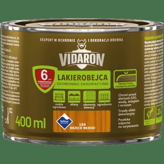 Vidaron Stain & Varnish Italian walnut 0,4 L
