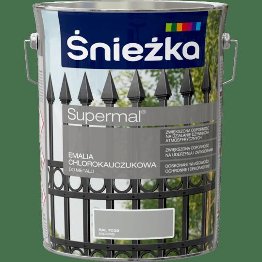 ŚNIEŻKA Supermal® Emalia Chlorokauczukowa RAL7038 5 L