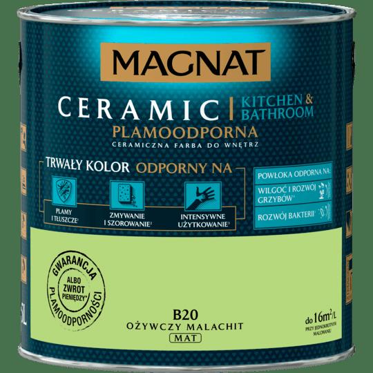 MAGNAT Cer KB ożywczy malachit B20 2,5L