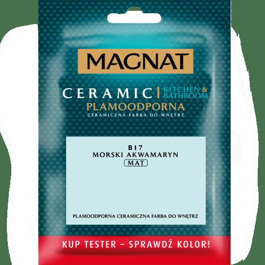 MAGNAT Ceramic Kitchen&Bathroom Tester morski akwamaryn 0,03 L