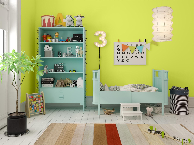 Pokój dla chłopca - MAGNAT Ceramic Care A10 zielony turmalin