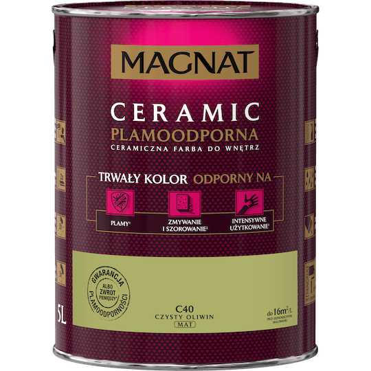 MAGNAT Ceramic czysty oliwin 5 L