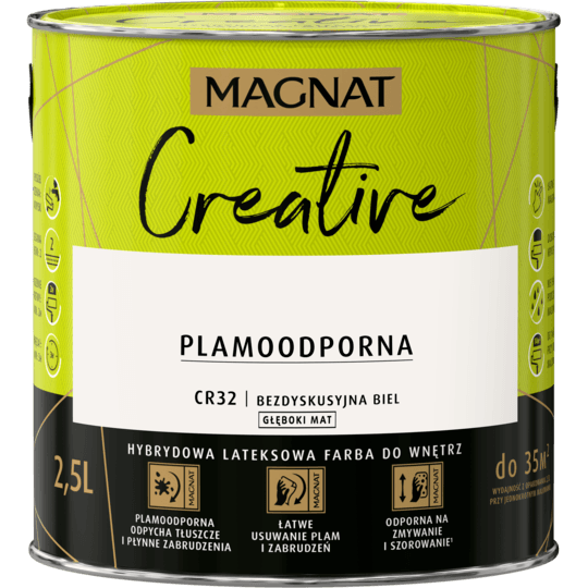 MAGNAT Creative bezdyskus biel CR32 2,5L
