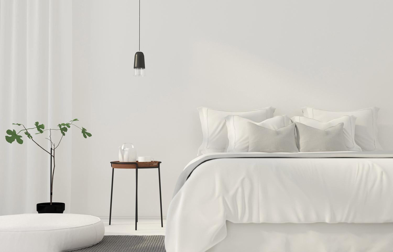 Sypialnia w bieli – symbolika koloru we wnętrzu