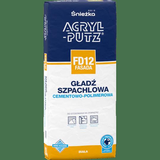 ŚNIEŻKA Acryl-Putz® FD12 Fasada biały 20 kg