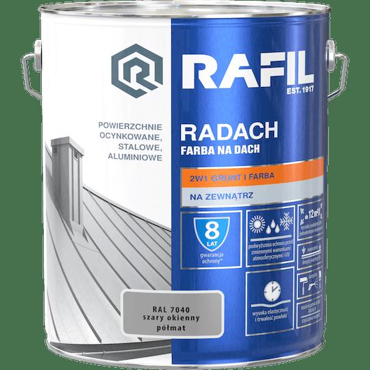 RAFIL Radach Farba Na Dach RAL7040