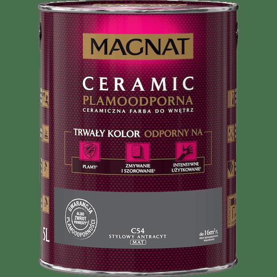 MAGNAT Ceramic stylowy antracyt 5 L