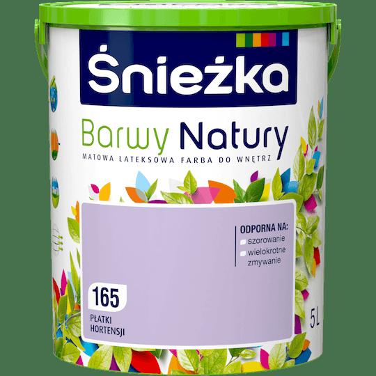 ŚNIEŻKA Barwy Natury płatki hortensji 5 L