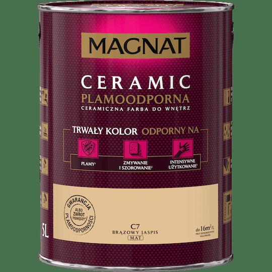 MAGNAT Ceramic brązowy jaspis 5 L