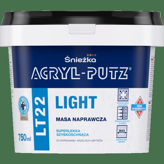 ŚNIEŻKA Acryl-Putz® LT22 Light biały 0,75 L