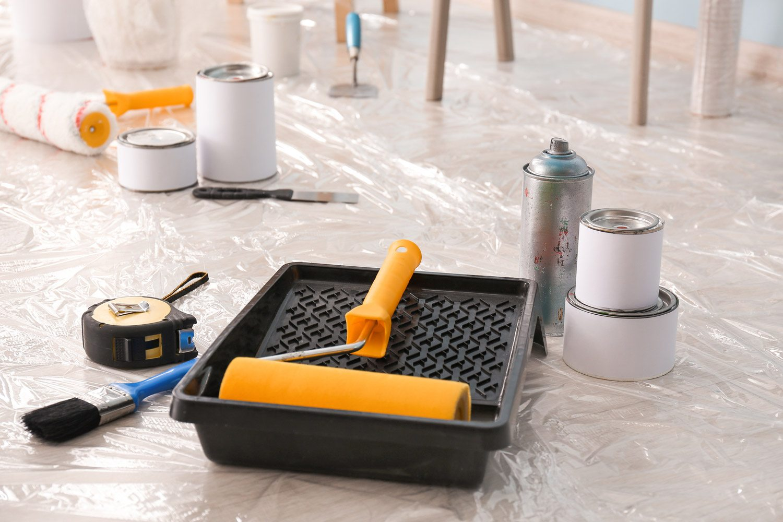 Narzędzia do malowania wnętrz