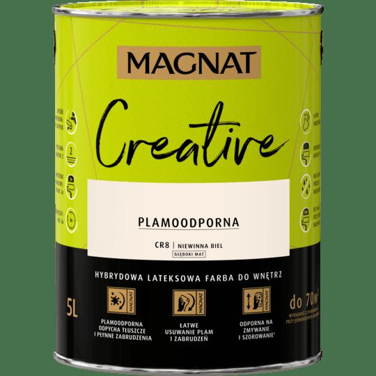 MAGNAT Creative niewinna biel 5 L
