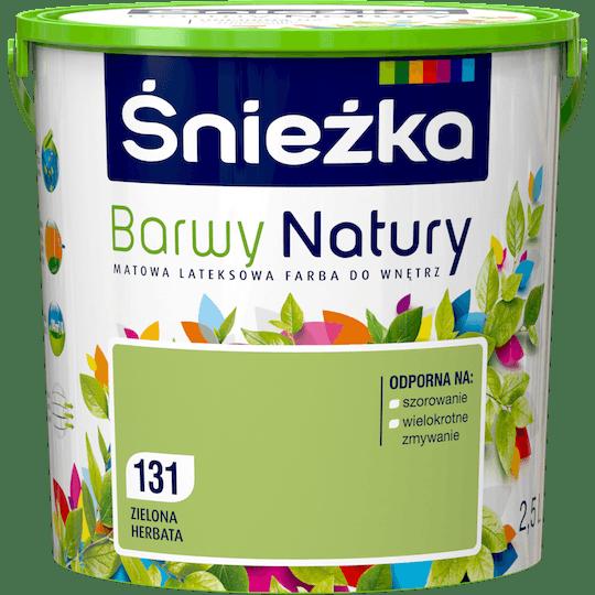 ŚNIEŻKA Barwy Natury zielona herbata 2,5 L