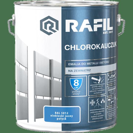 Rafil  Эмаль Хлоркаучуковая RAL5012