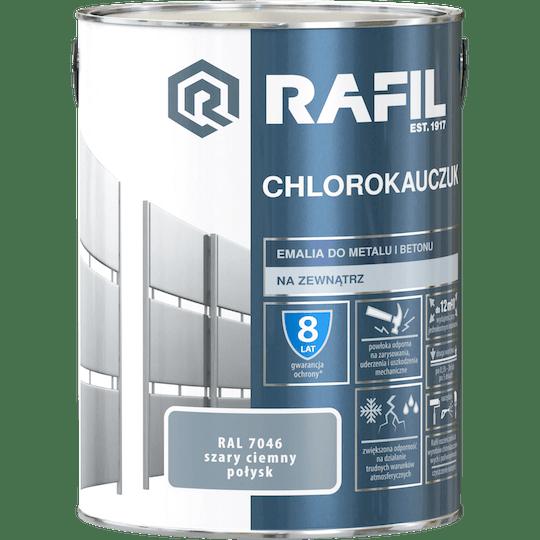Rafil  Эмаль Хлоркаучуковая RAL7046