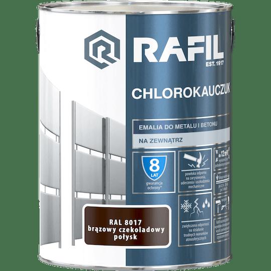 Rafil  Эмаль Хлоркаучуковая RAL8017