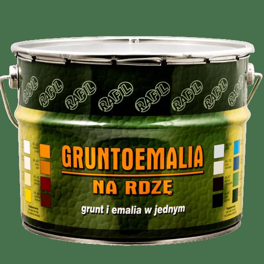 RAFIL Gruntoemalia Na Rdzę RAL9017 10 L
